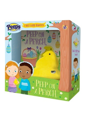 Peep on a Perch Plush and Picture Book Set