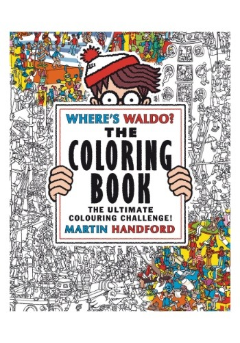 Where's Waldo The Coloring Book