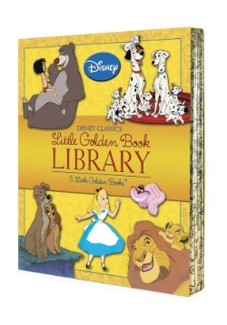 Disney Classics Little Golden Books Library Board Book Set
