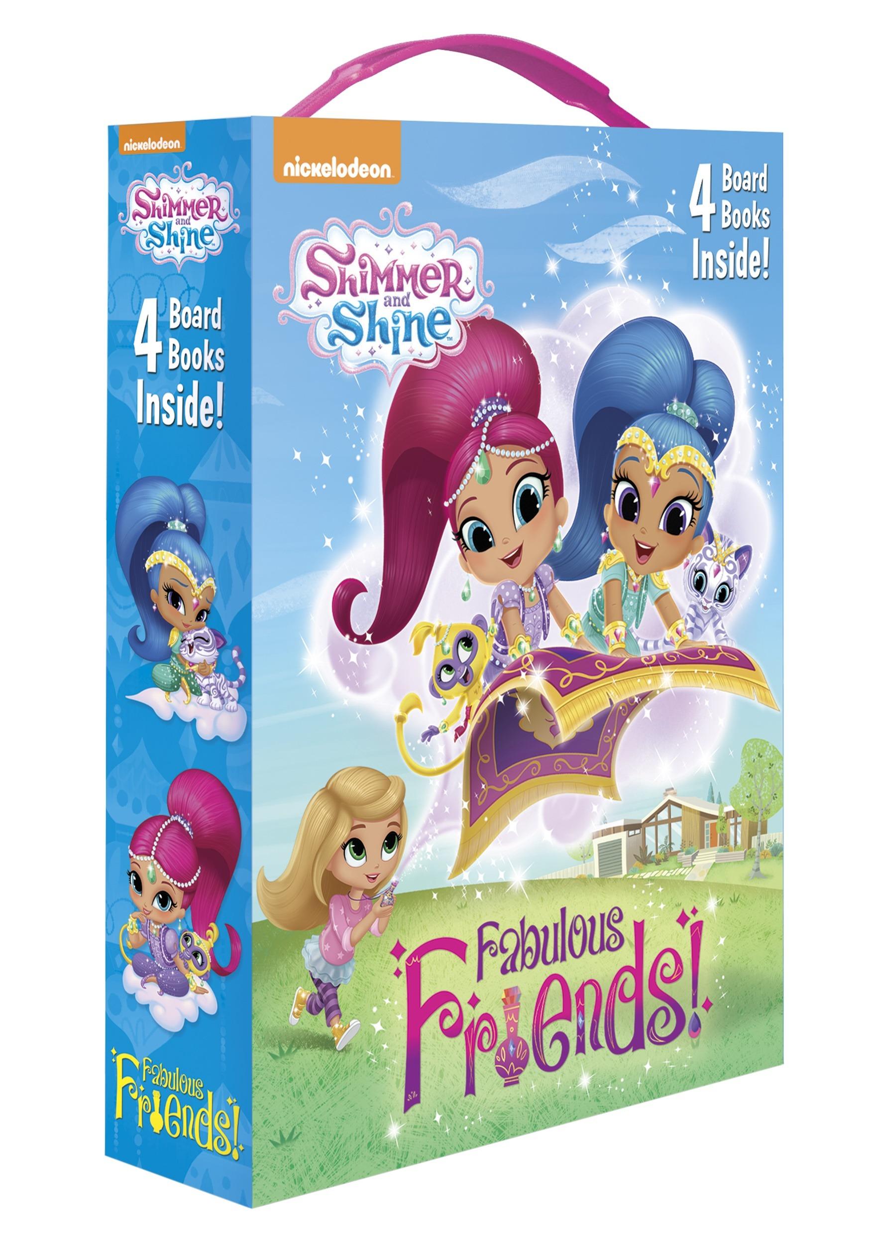 Shimmer And Shine Fabulous Friends Board Book Box Set
