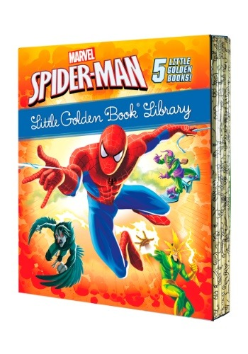 Spider-Man Little Golden Library Box Set