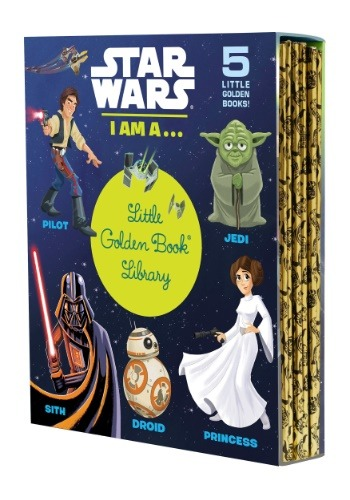 Star Wars Little Golden Book Library Set