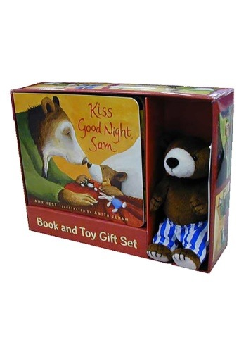 Kiss Good Night Book and Toy Gift Set