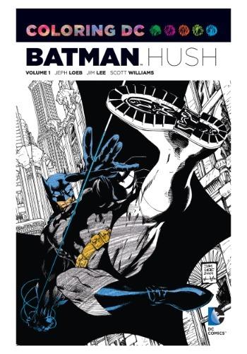 Coloring DC: Batman- Hush Vol 1 Coloring Book