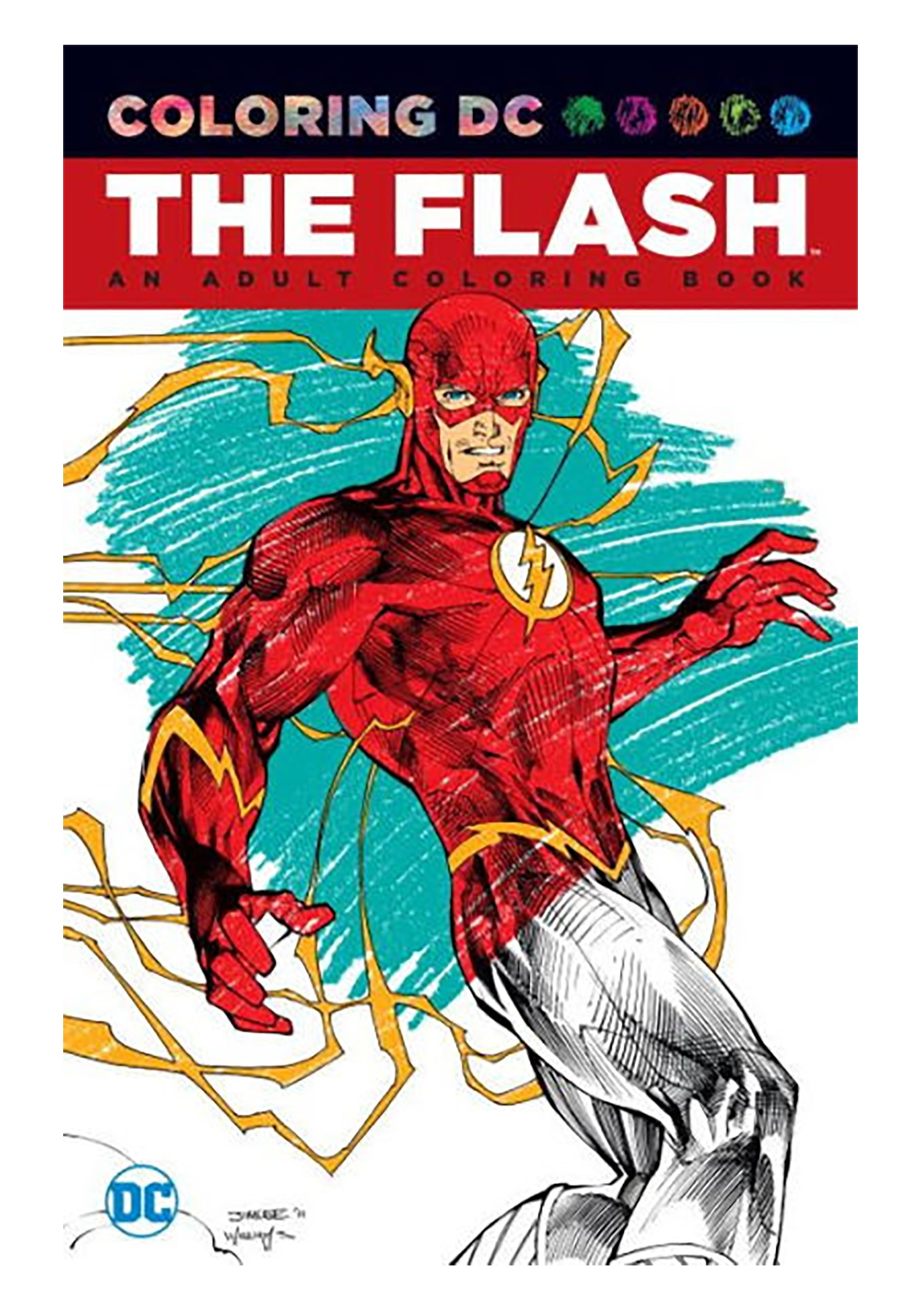 - Coloring DC: The Flash- An Adult Coloring Book