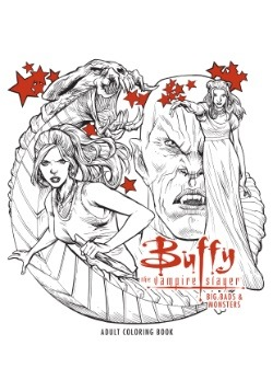 Buffy the Vampire Slayer- Big Bads & Monsters Adult Coloring