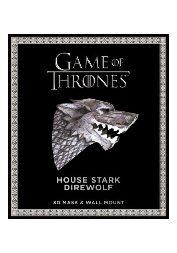 Game of Thrones- Mask: House Stark Direwolf