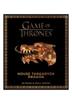 Game of Thrones: Mask- House Targaryen Dragon