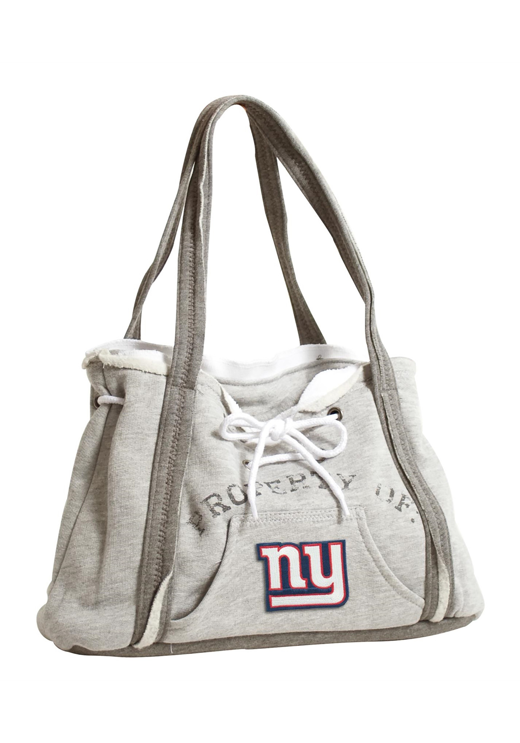 NFL Hoodie Purse featuring the New York Giants (LTE350404-GIAN-GREY) photo