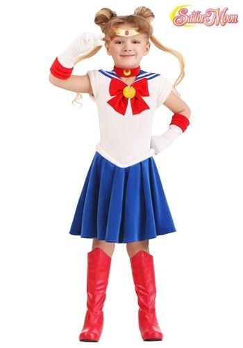 Girl's Toddler Sailor Moon Costume