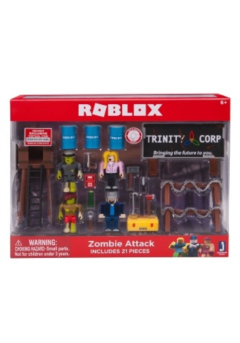Roblox Zombie Attack Environment Set