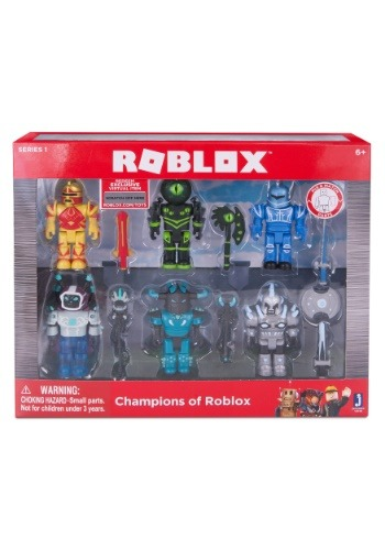 Roblox Champions 6 Figure Multipack