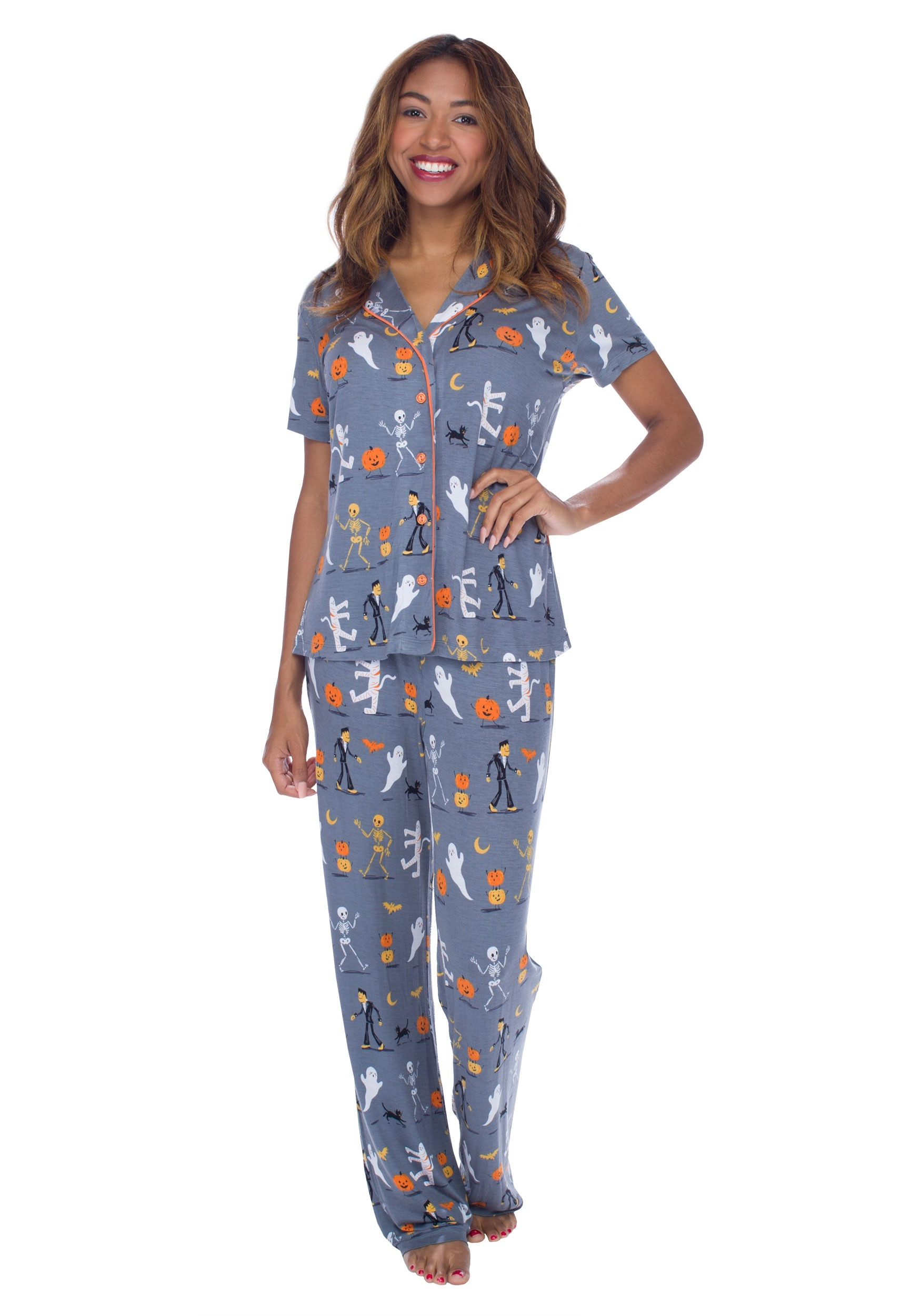 1f993db7d Halloween Parade: Women's Pajama Set