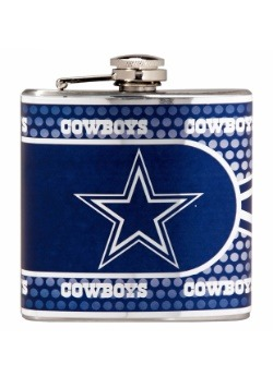 NFL Dallas Cowboys 6 oz. Stainless Steel Flask w/