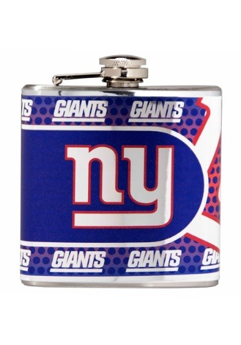 NFL New York Giants 6 oz. Stainless Steel Flask