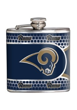 NFL Los Angeles Rams 6 oz. Stainless Steel Flask