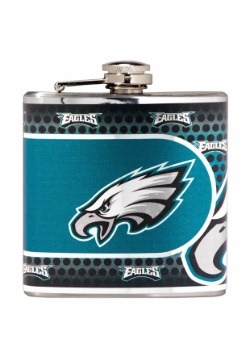 NFL Philadelphia Eagles 6 oz. Stainless Steel Flask