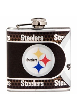 NFL Pittsburgh Steelers 6 oz. Stainless Steel Flask