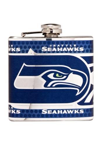 NFL Seattle Seahawks 6 oz. Stainless Steel Flask