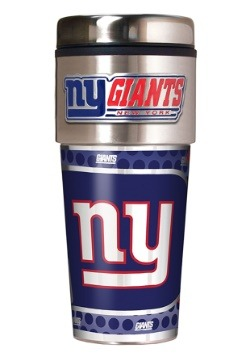 NFL New York Giants 16 oz. Tumbler w/ Metallic Graphics