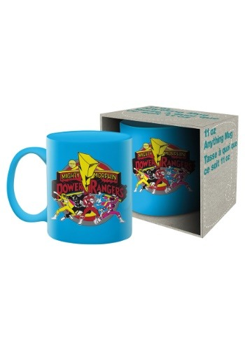 11oz Boxed Mug- Power Rangers Group Shot