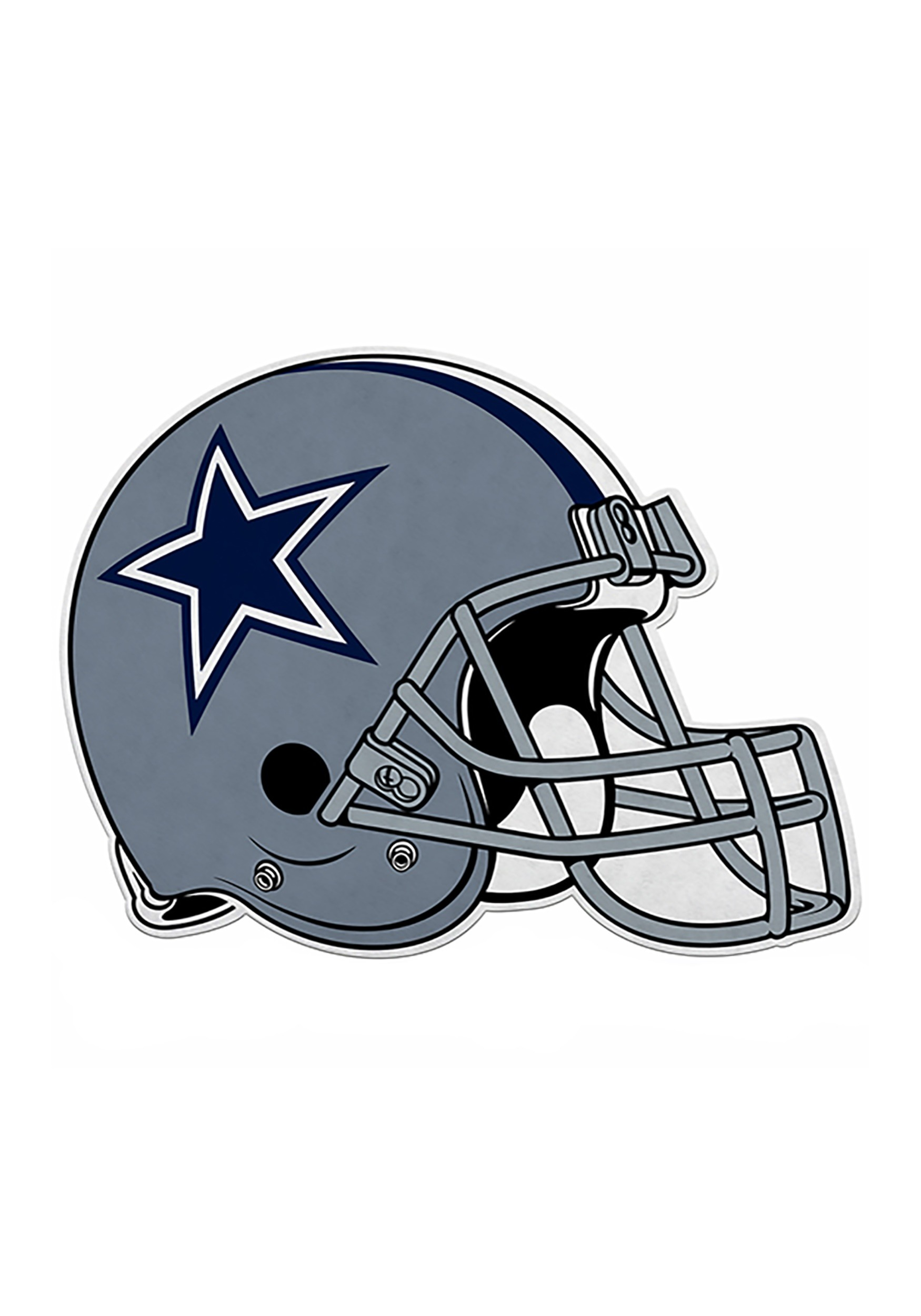 9e1b8b23c NFL Dallas Cowboys Die Cut Helmet Pennant