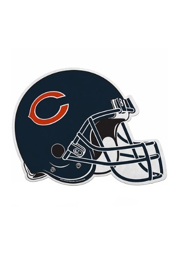 NFL Chicago Bears Die Cut Helmet Pennant
