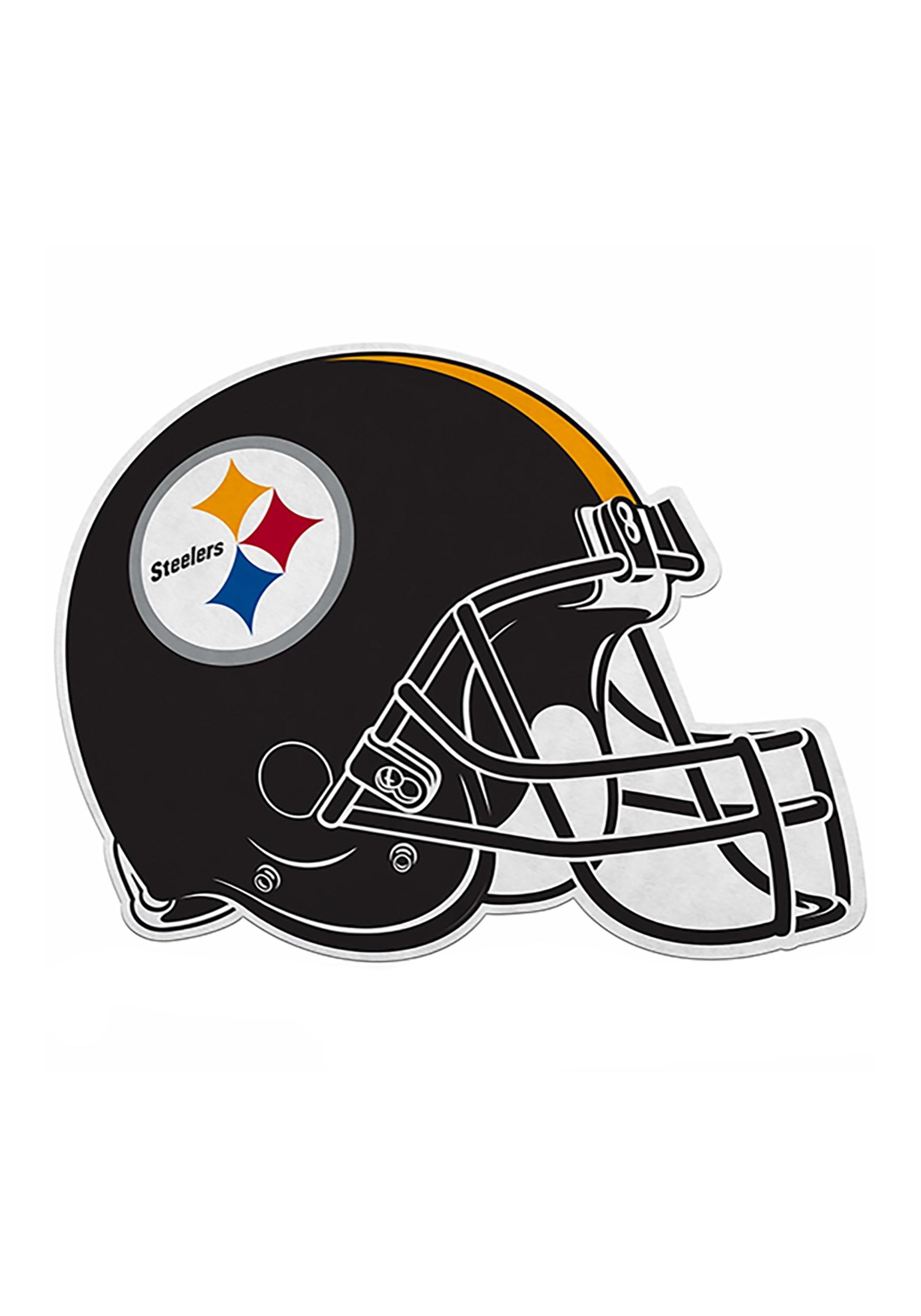 c4bab6716e0 NFL Pittsburgh Steelers Die Cut Helmet Pennant