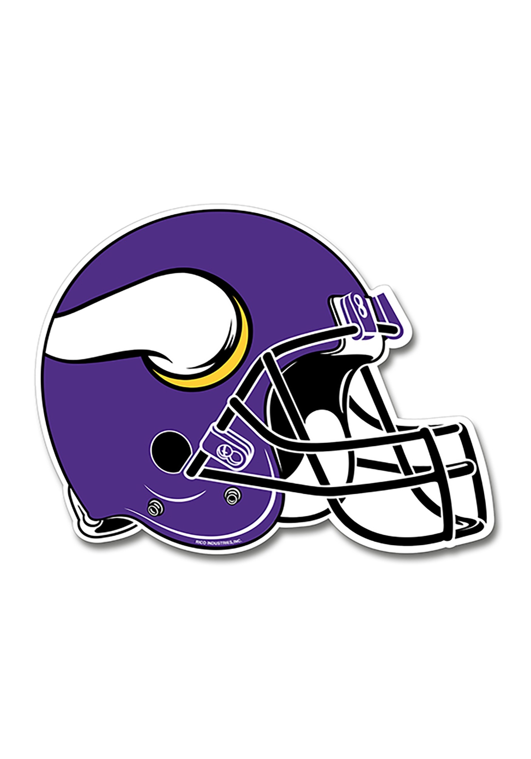 Minnesota Vikings Nfl Bath Towel Set All By Freemansalesgirl: Minnesota Vikings NFL Die Cut Helmet Pennant