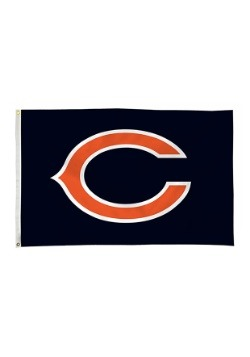 NFL Chicago Bears 3' x 5' Banner Flag