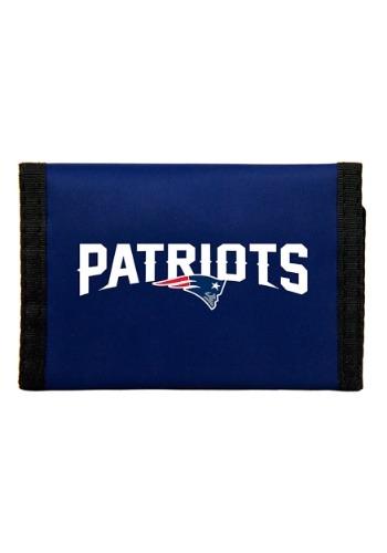 NFL New England Patriots Nylon Tri-Fold Wallet