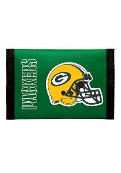 NFL Green Bay Packers Nylon Tri-Fold Wallet