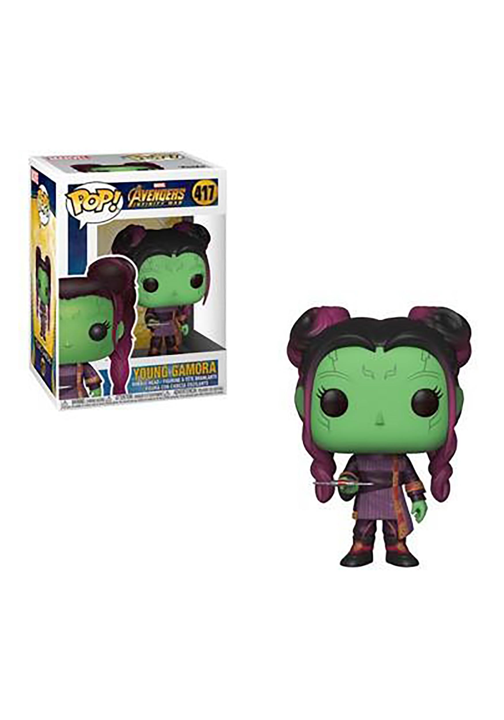 Funko Pop Marvel Avengers Infinity War Young Gamora W