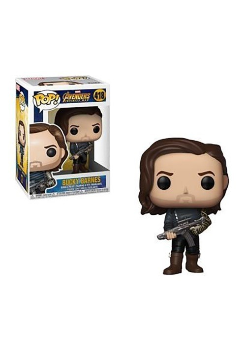 Pop! Marvel: Avengers Infinity War- Bucky w/ Weapon