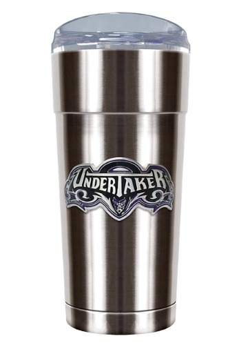 WWE The Undertaker 24 oz Stainless Steel Tumbler