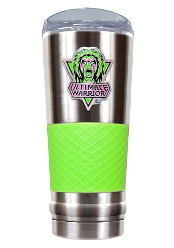 WWE Ultimate Warrior 24 oz Stainless Steel Tumbler