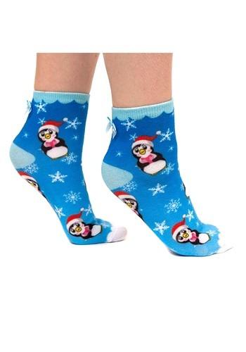 Irregular Choice Santa Penguin Womens Socks