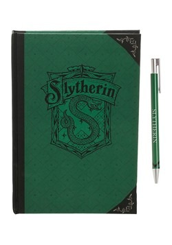 Harry Potter Slytherin Journal and Pen Set