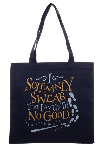 Harry Potter I Solemnly Swear Canvas Tote