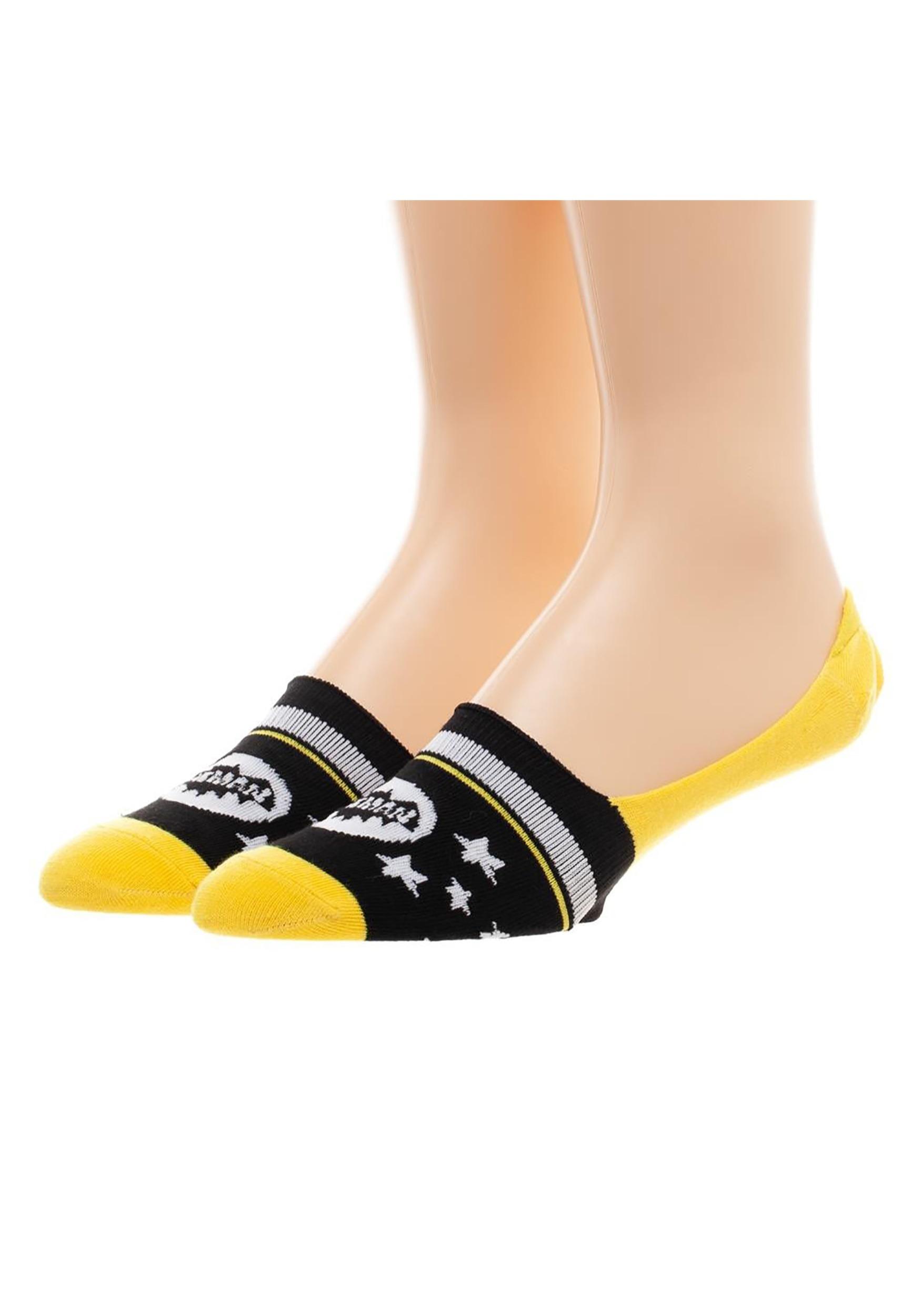 613cc9fb672 Batman Women's 2 Pack No Show Liner Socks