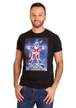 Christmas Vacation Men's Black T-Shirt-update1