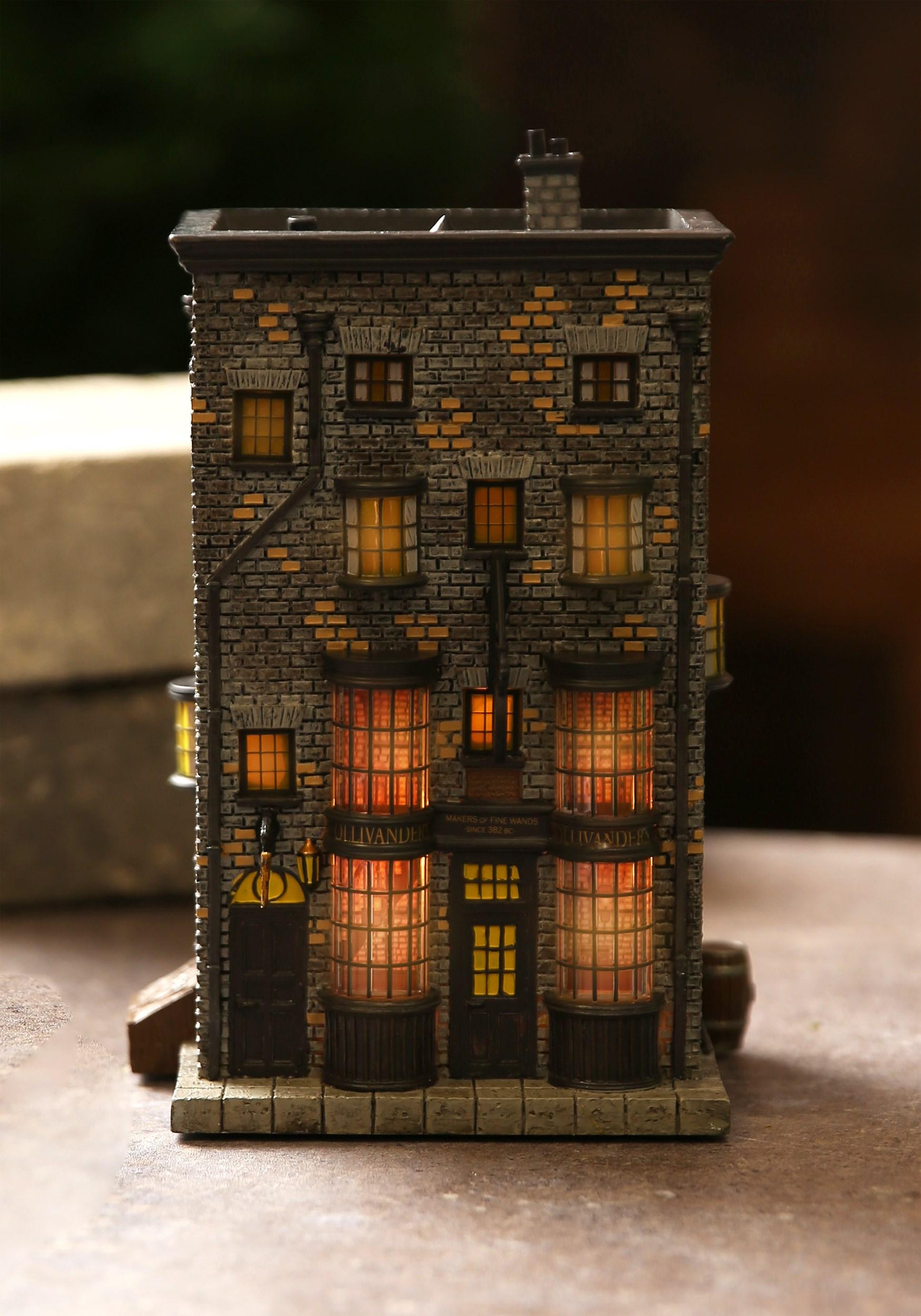 Harry Potter Village Ollivanders Wand Shop Lighted Building