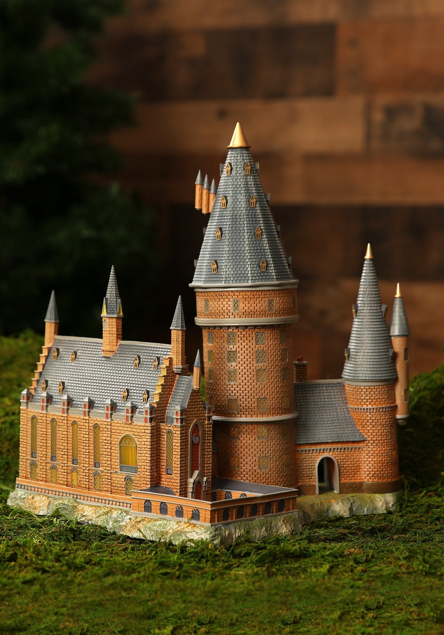 Harry Potter Village Great Hall Amp Tower Lighted Building