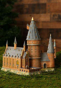 Hogwarts Hall & Tower Harry Potter Village Lighted Building