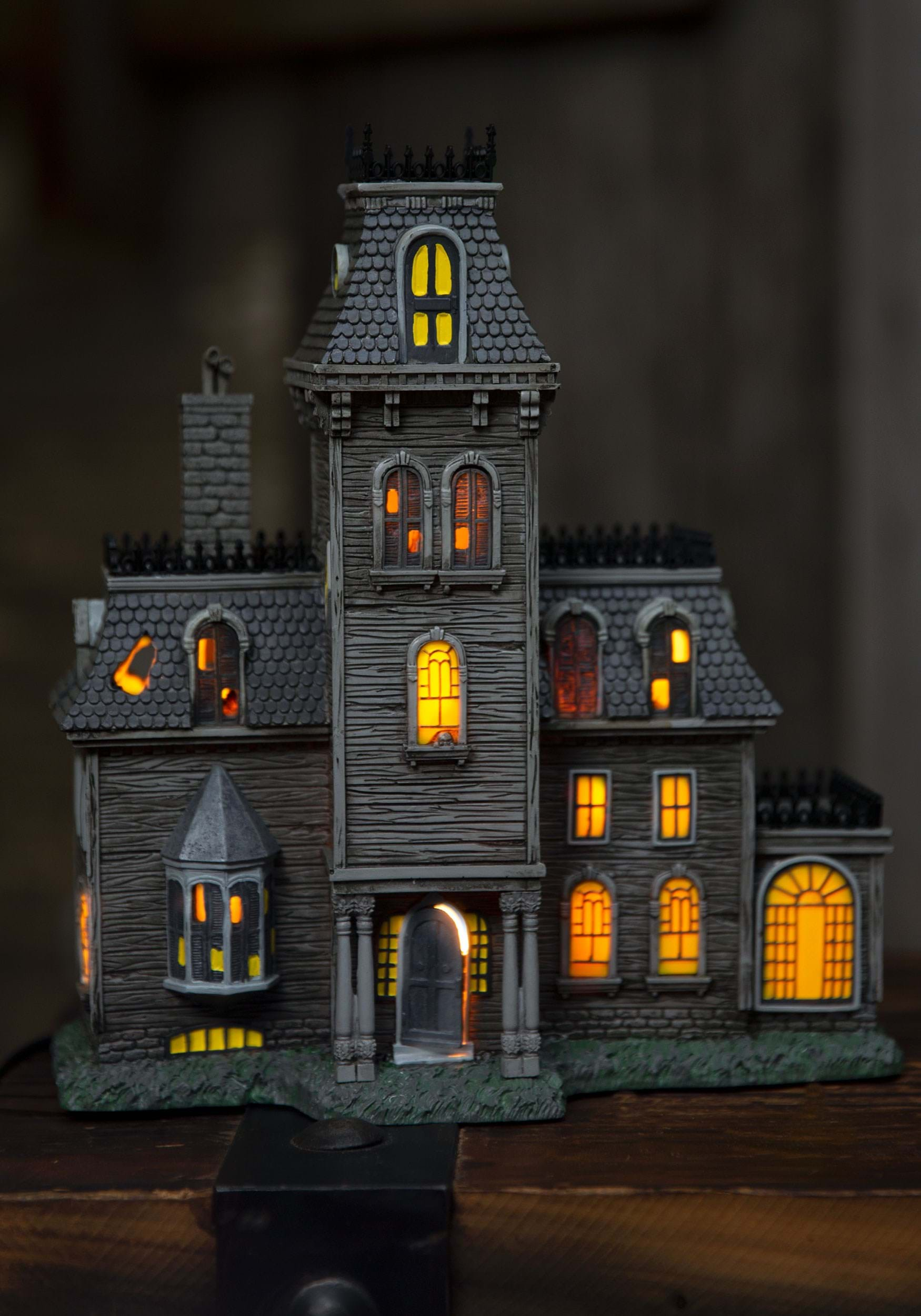 The Addams Family Lighted House Building