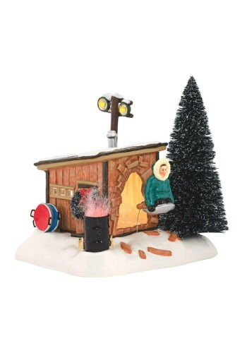 Department 56 Christmas Vacation Griswold Sled Shack Figure