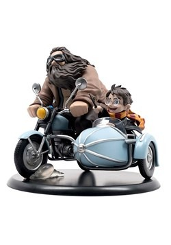 Harry Potter and Rubeus Hagrid: Q-Fig Statue 1
