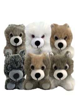 Game of Thrones Direwolf Cub Plush Box Set
