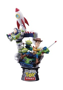 Toy Story 6-Inch Statue D-Select Series