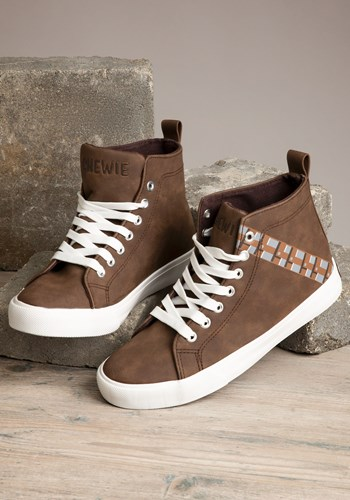 Star Wars Chewbacca Mens High Top Sneakers upd
